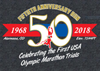 50th Anniversary 1968 Olympic Trials Run